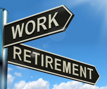 Work, retirement crossroads