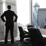 Man in London boardroom