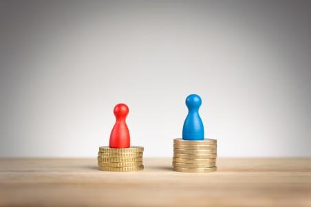 gender pay gap money