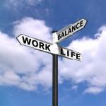 Work life balance sign